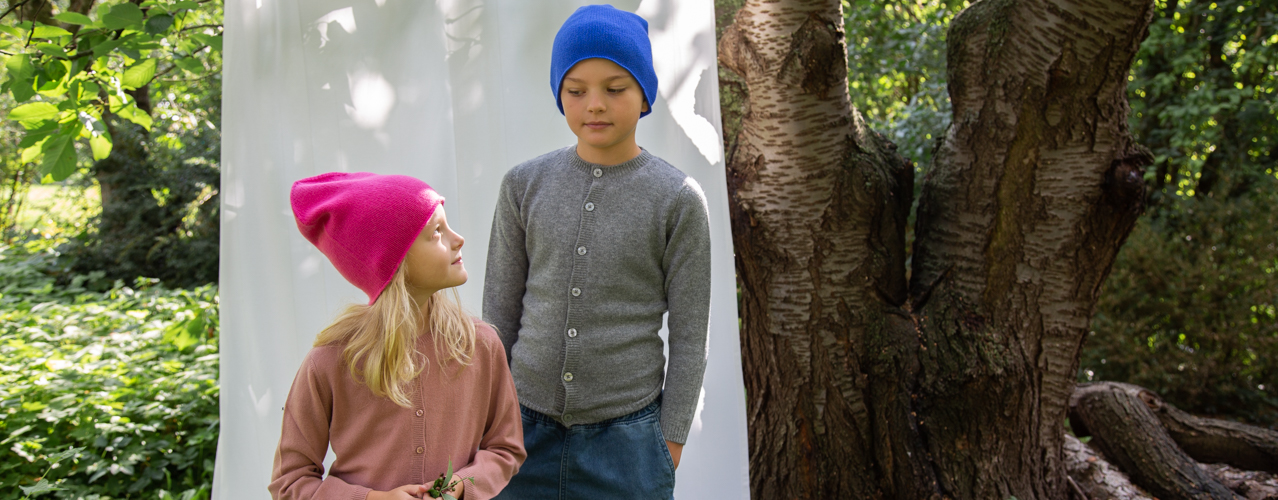 Cashmere children clothing spring summer collection PAPA LOBSTER