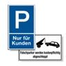 Parkplatzbeschilderung - Zeunert Schilder