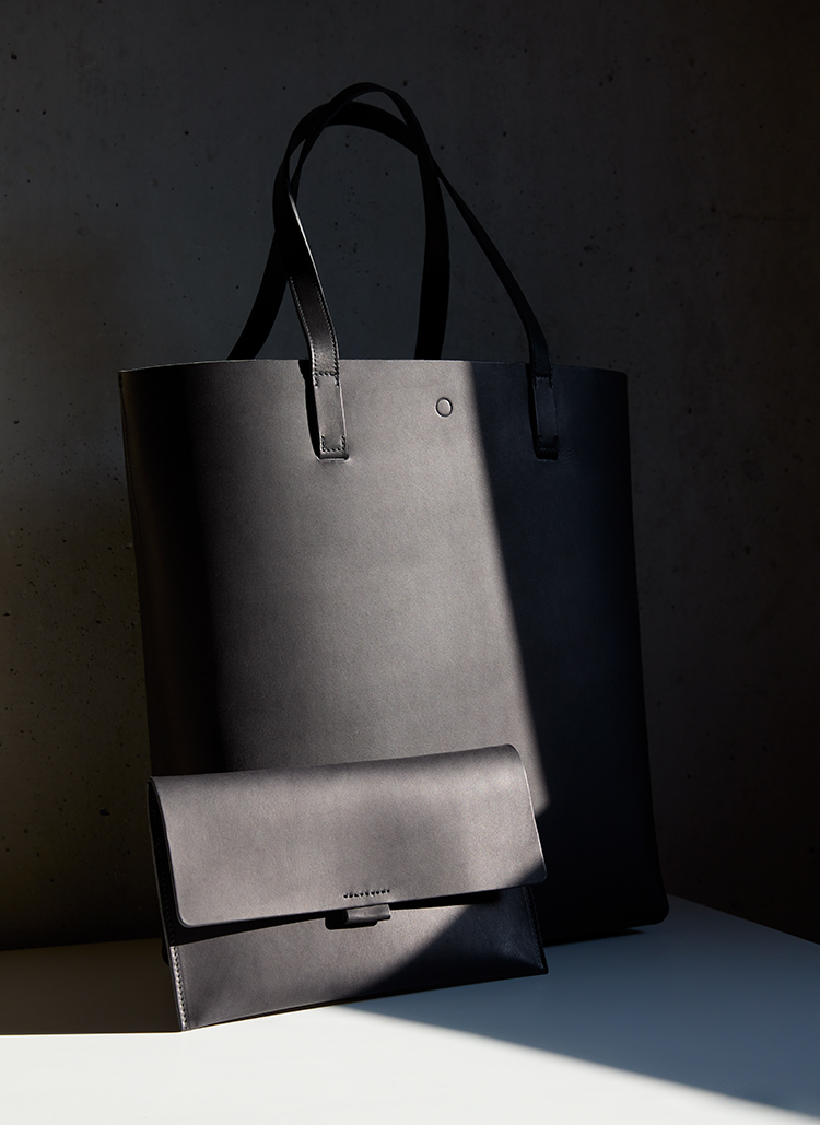 fin leather bags used